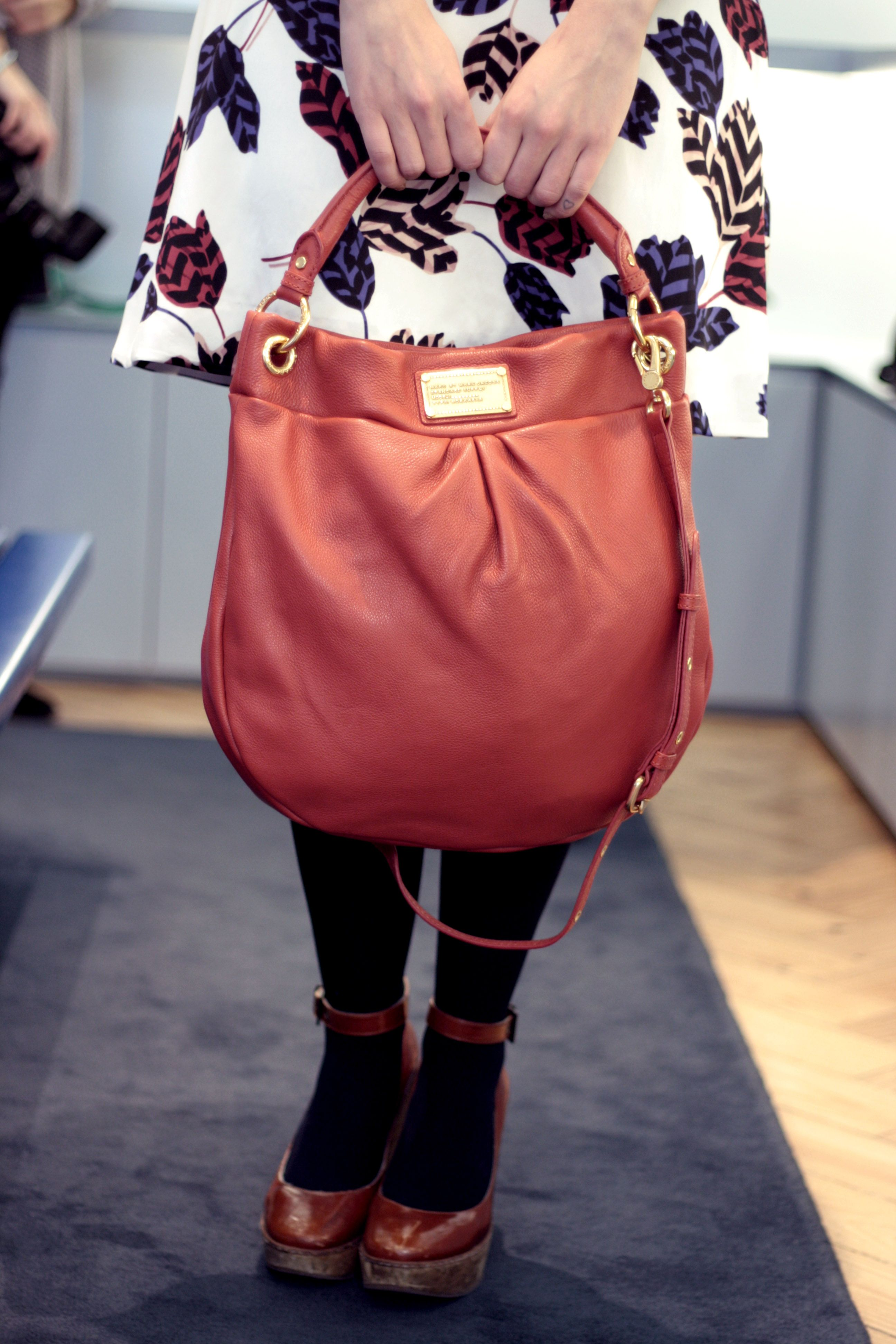 76c94d90180 Marc by Marc Jacobs Classic Q Hillier Hobo in Bright Persimmon via Pretty  Exquisite
