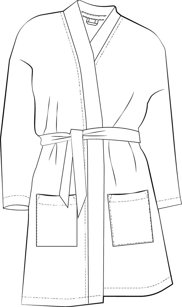 Kimono Robe Sewing Pattern | Pinterest | Pdf sewing patterns ...