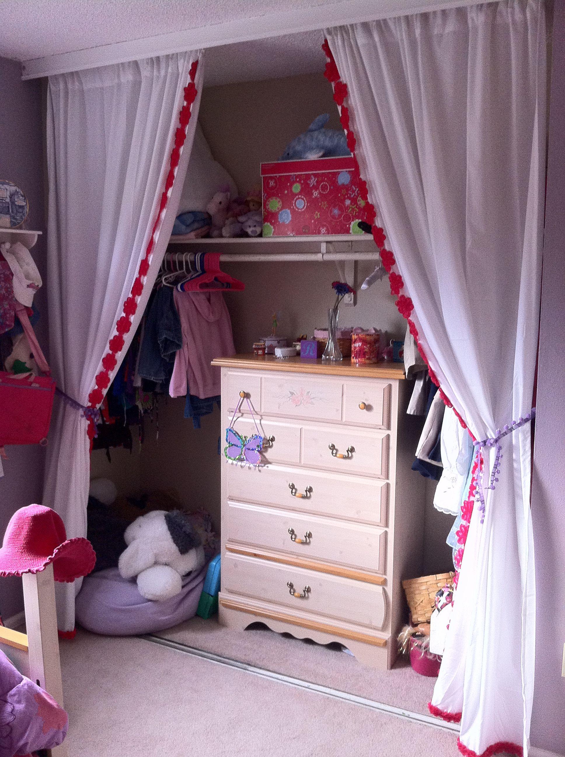 Closet curtains for kids - Closet Curtains