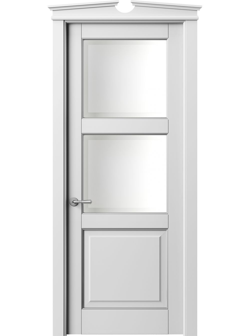 Solid Wooden Door With A Single Panel Is Sound And Promises A Personalized Style All Of The Product Doors Interior Discount Interior Doors Wood Doors Interior
