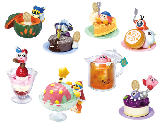 Re-Ment Miniature Kirby Star Chief Kawasaki/'s Sweets Party Full Set 8 pieces
