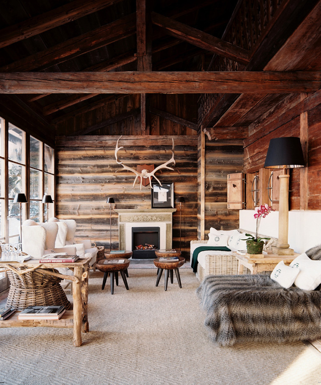 19 Log Cabin Home Décor Ideas: Log Homes, House Design, Cabin Interiors
