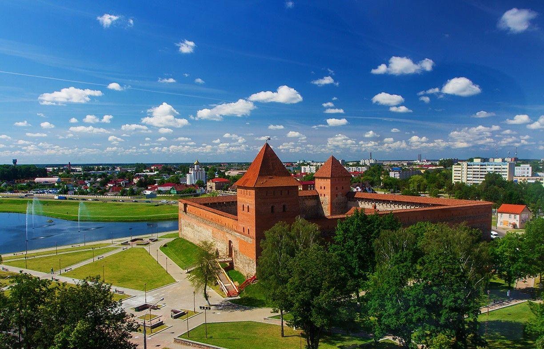 Лидский замок, 1323, Лида, Беларусь