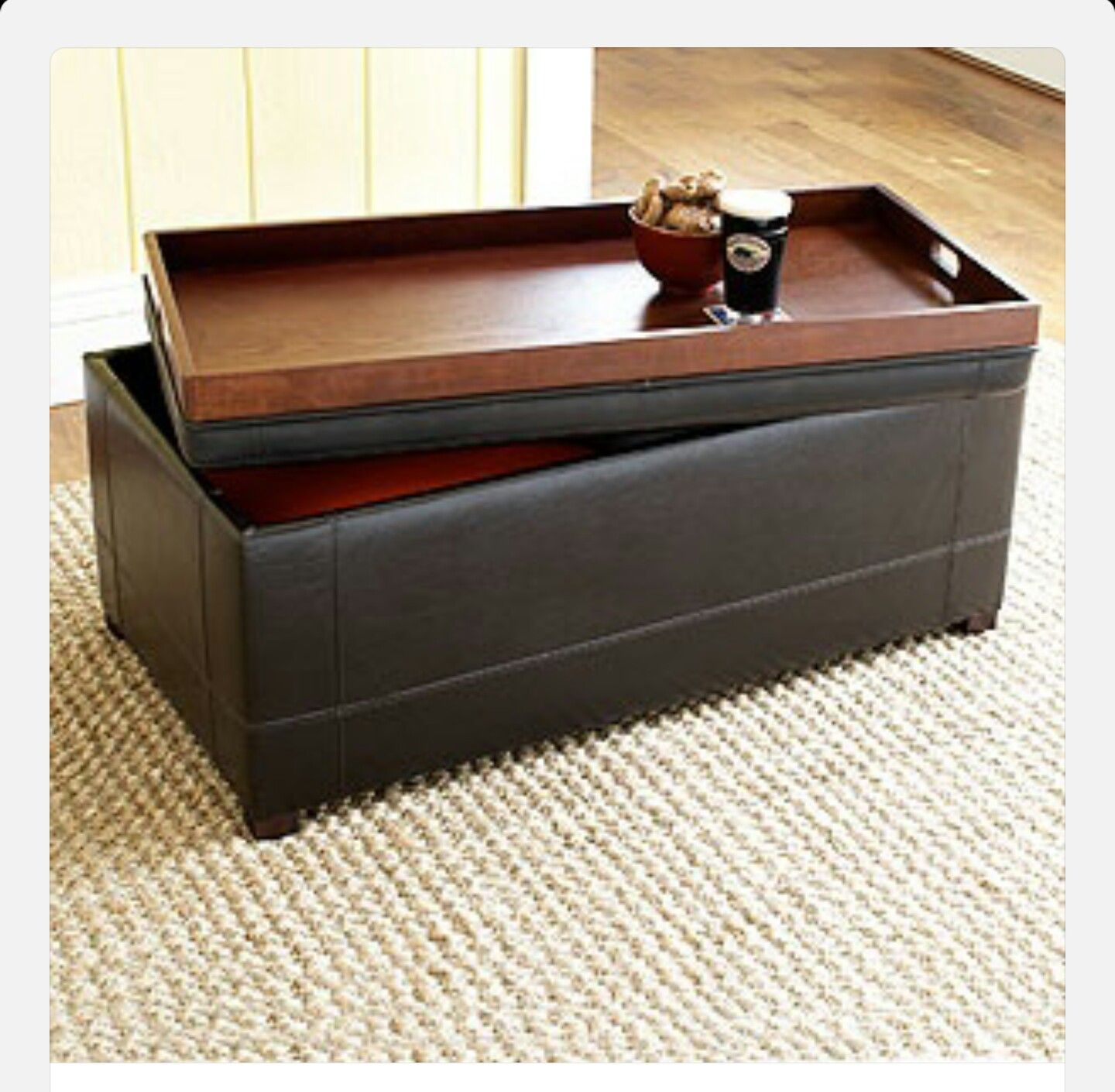 Explore Leather Ottoman Coffee Table And More