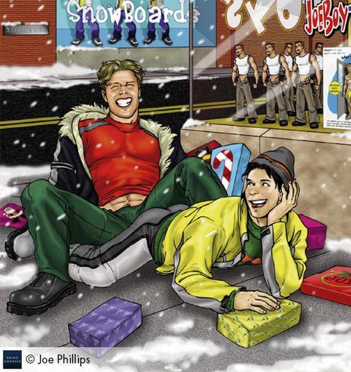Christmas Is Approaching Art Joe Phillips Taken From Boys