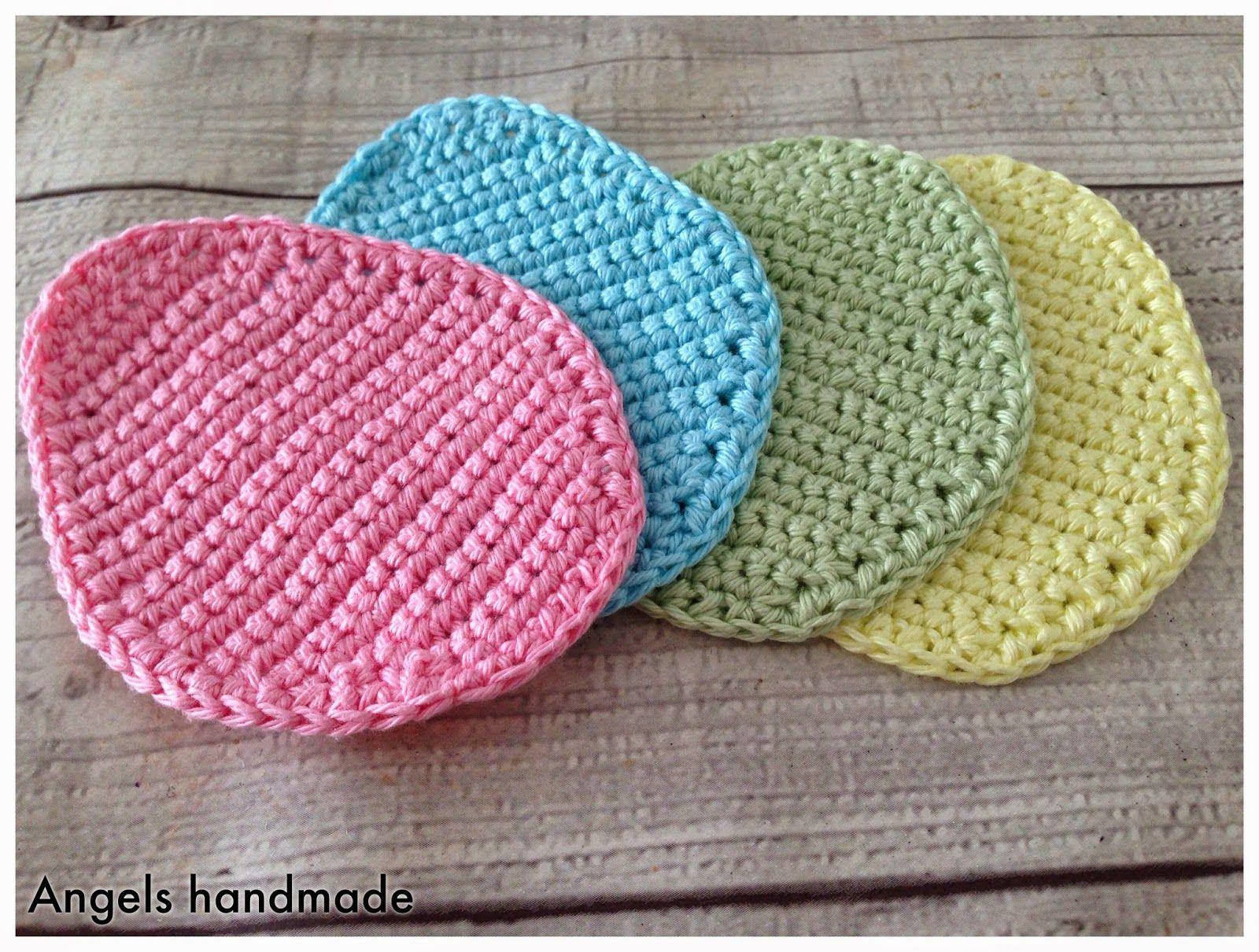 Paas onderzetters.. !! Met nederlands patroon :) !! | easter crochet ...