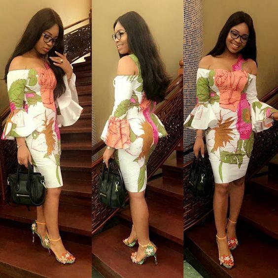 Beautiful Ankara Short Gown Design - DeZango Fashion Zone