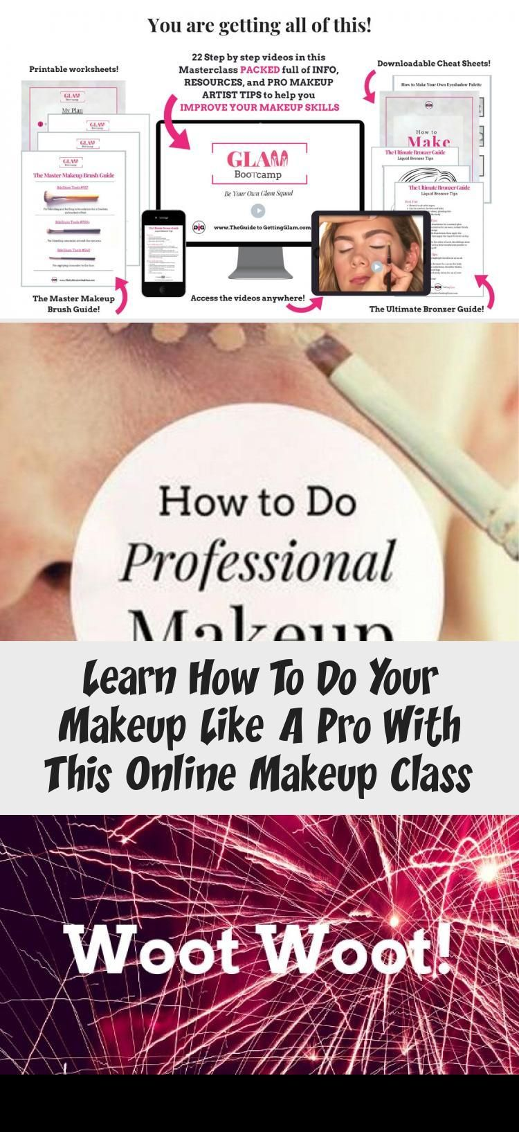 learn how to do your makeup like a pro with this online