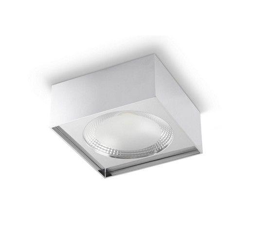 LED-DECKENLEUCHTE - Chromfarben, MODERN, Metall (18/18/8cm