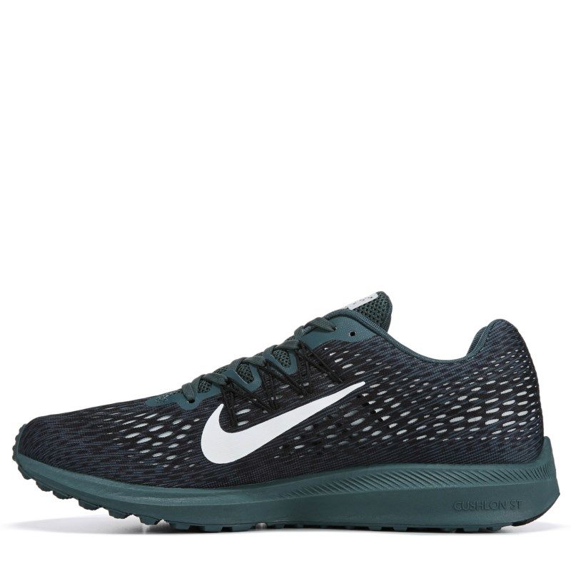 3831bec90a754 Nike Men s Zoom Winflo 5 Running Shoes (Faded Spruce Phantom ...