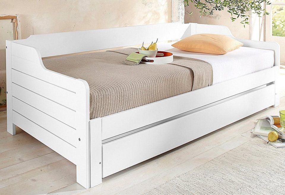 home affaire daybett edo maritim wohnen pinterest bett landhaus und haus. Black Bedroom Furniture Sets. Home Design Ideas