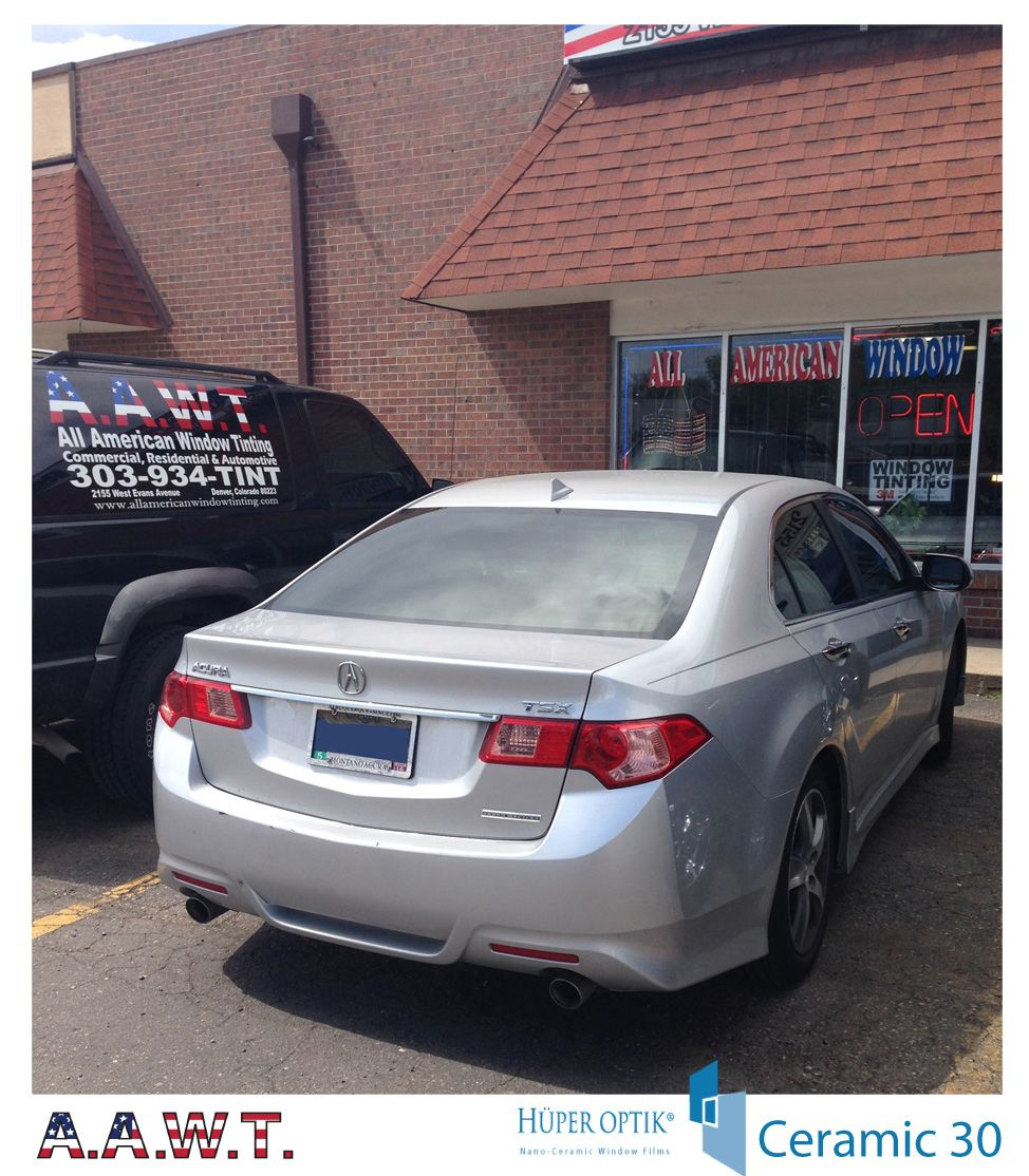 Acura TSX Went With Huper Optik Ceramic 30. Great Heat