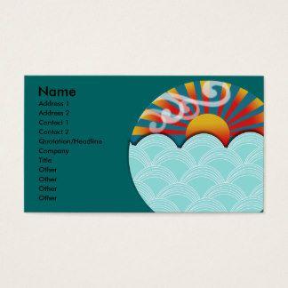 Carte De Visite De Feng Shui Carte De Visite Cartes Carte