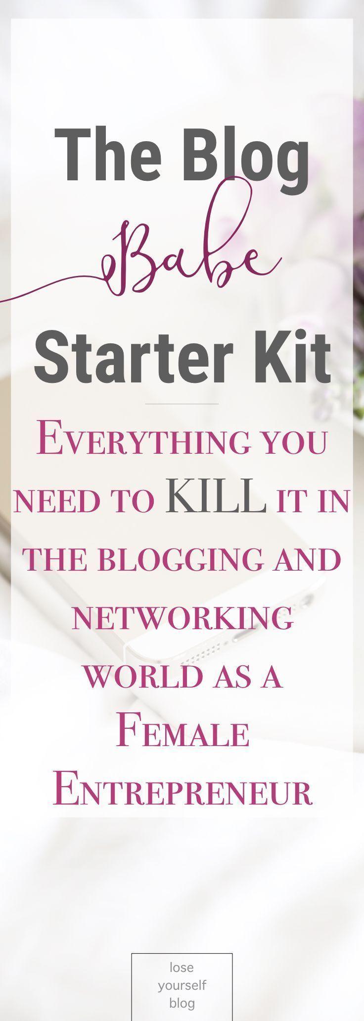 Starter Kit for New Bloggers and New Brands Blog tips