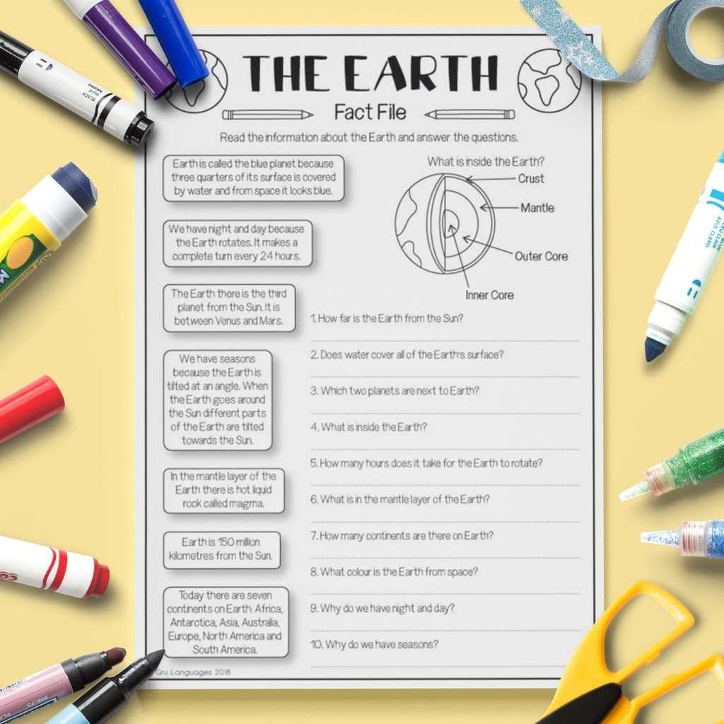 The Earth Fact File