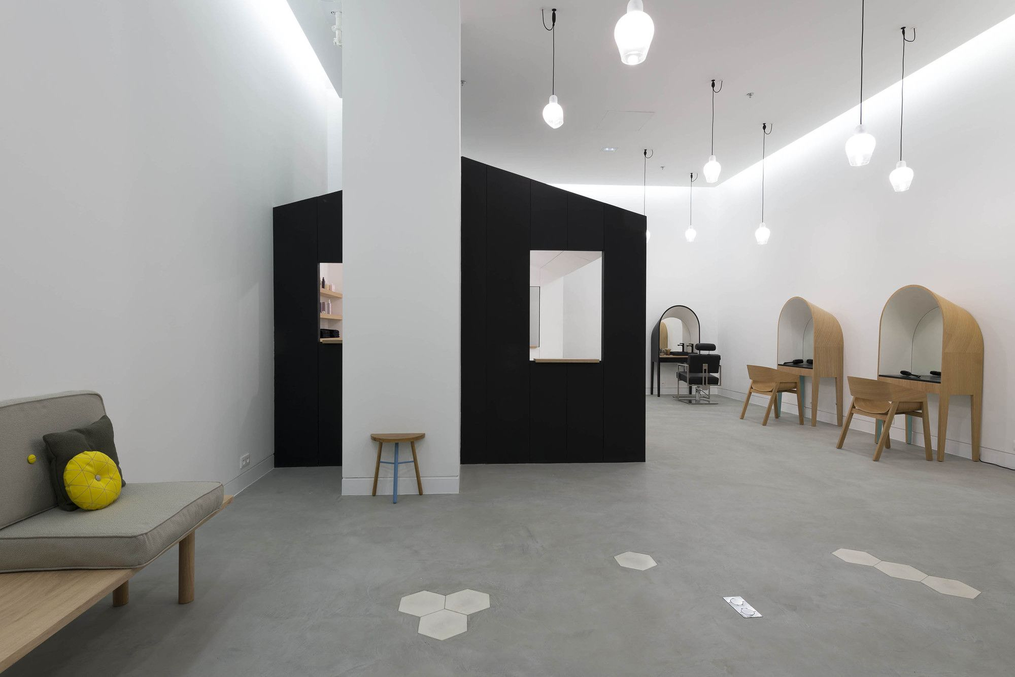 Le Coiffeur by Margaux Keller Design Studio | OMA | hair salon ...
