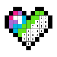 Color By Number Coloring Book Free Pixel Art Coloring Books Coloring Apps Coloring Book App