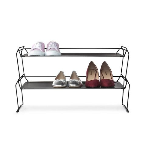 2 Tier Stackable Shoe Rack Black Shoe Rack Stackable Shoe Rack 2 Tier Shoe Rack