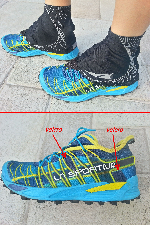 Modifica homemade scarpe da trail running per utilizzare ghette con velcro   mutant  lasportiva  trail  running  trailrunning  corsa  montagna  ghette  ... a83a912c355