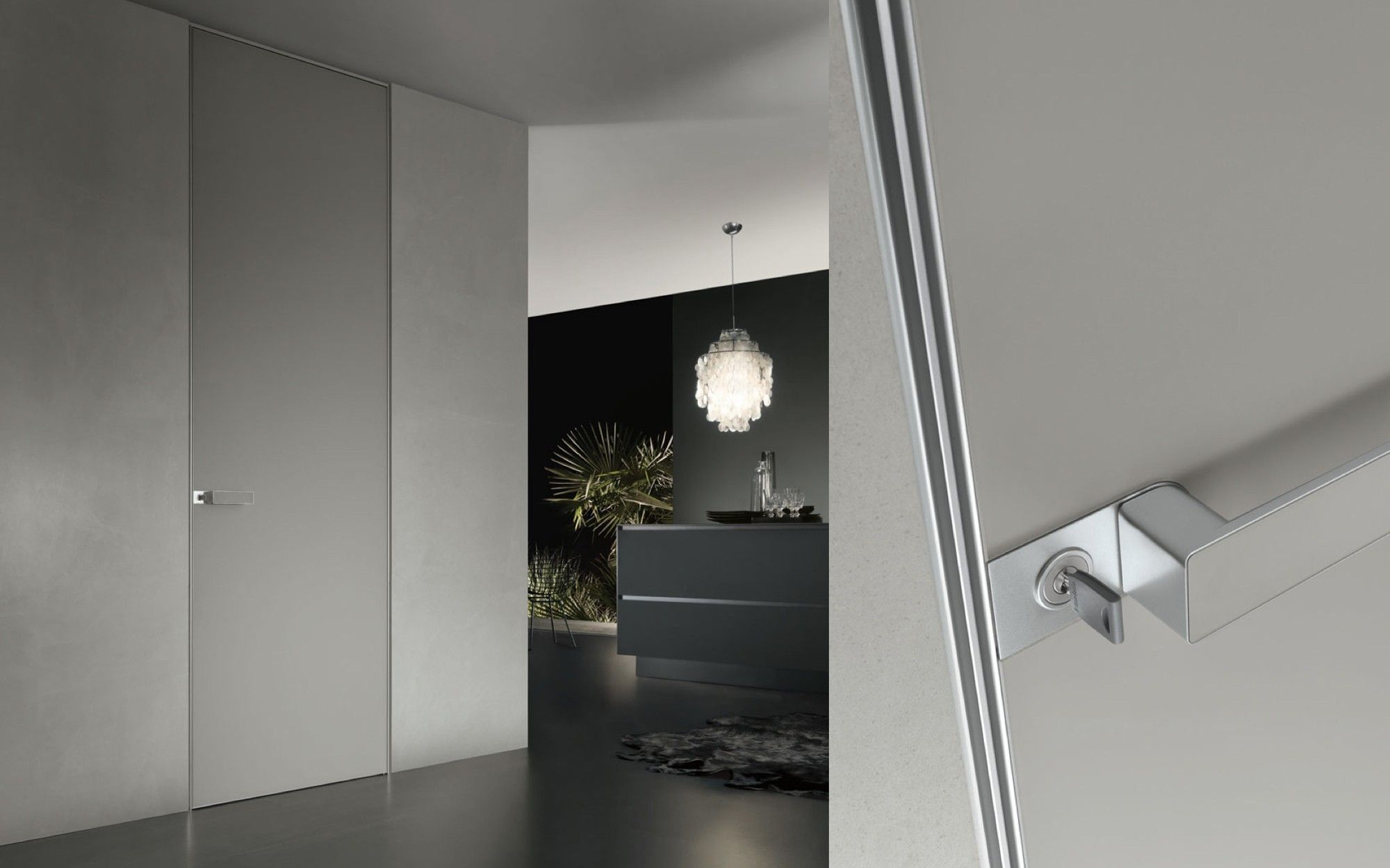 Moon door from Pure Interiors by Rimadesio. & Moon door from Pure Interiors by Rimadesio.   Doors   Pinterest ...