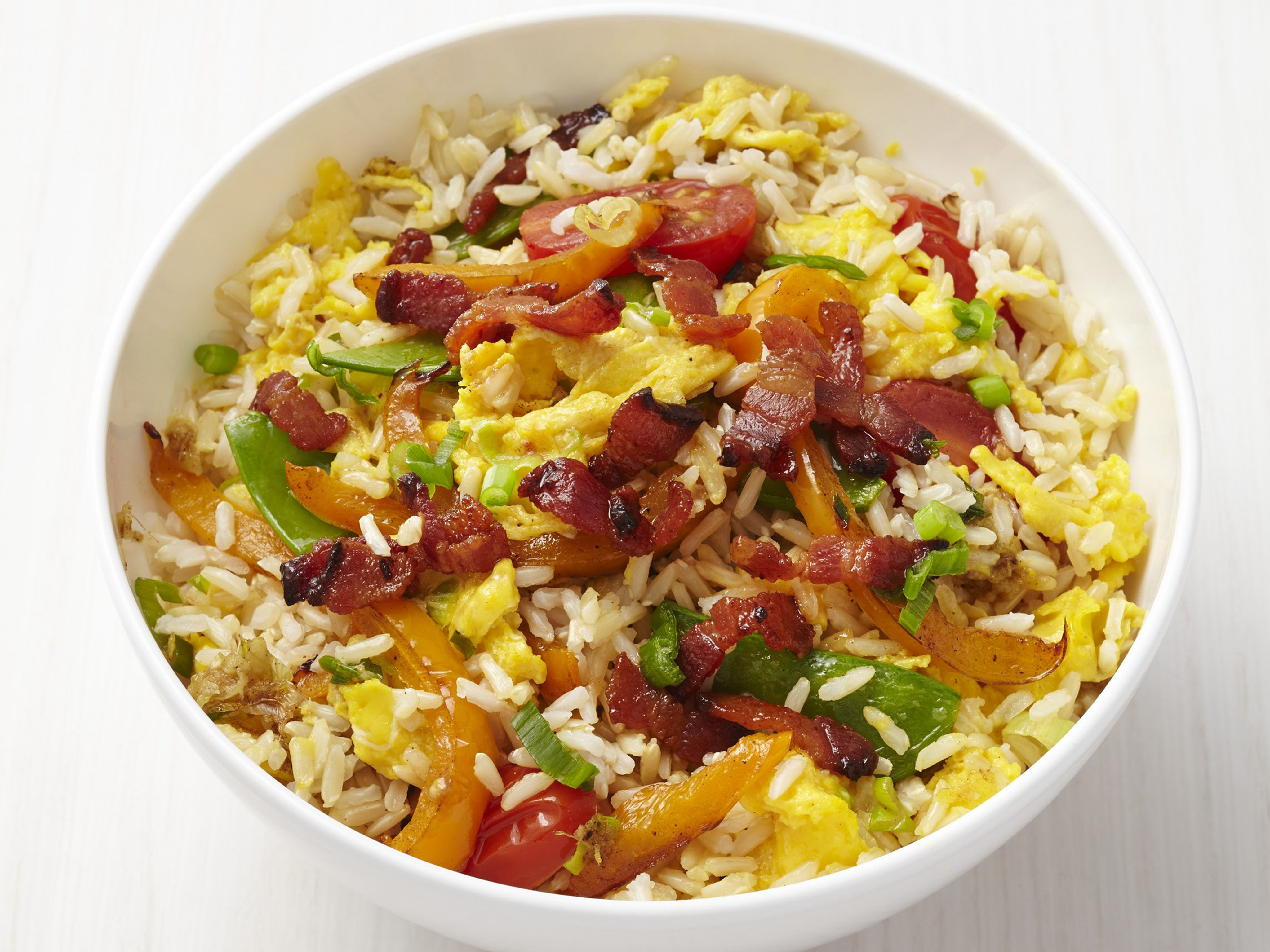 Fried rice with bacon recipe bacon recipes fried rice and bacon fried rice with bacon bacon foodbacon recipesstir forumfinder Gallery