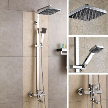 rain shower head with handheld spray. Luxury 8in Rainfall Shower Head W Handheld Sprayer Buy Top Mesmerizing Rain With Spray Images  Best