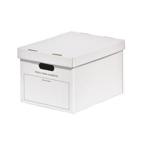 Fhe Group File Storage Boxes White Letter Legal File Storage