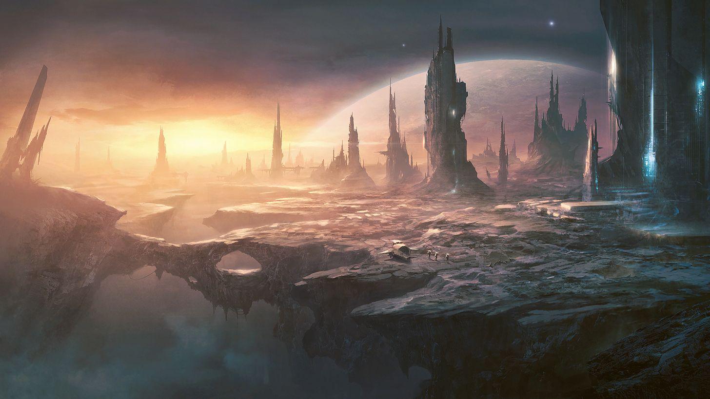 Stellaris in 2019 | Sci-fi | Planets wallpaper, Art, Game art