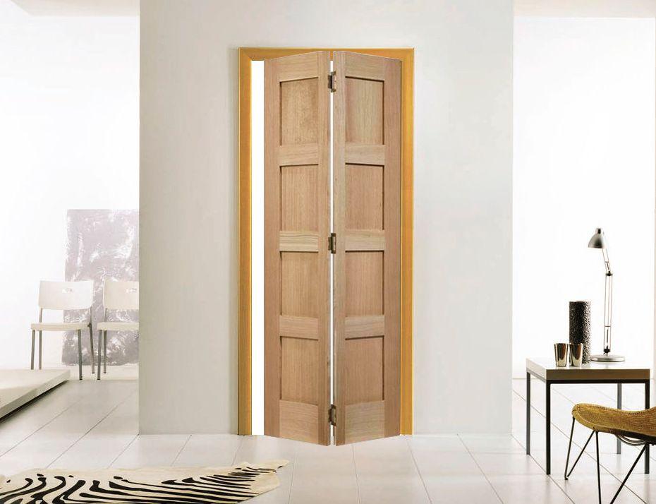 A Bi Fold Door Will Take Up Less Room Than A Barn Door It Allows