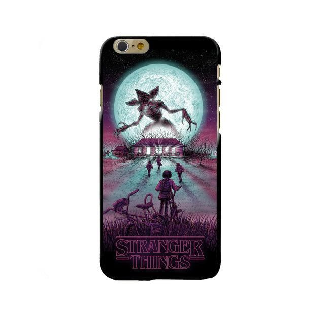 A Stranger Things Anime Is Not The Worst Idea iphone case