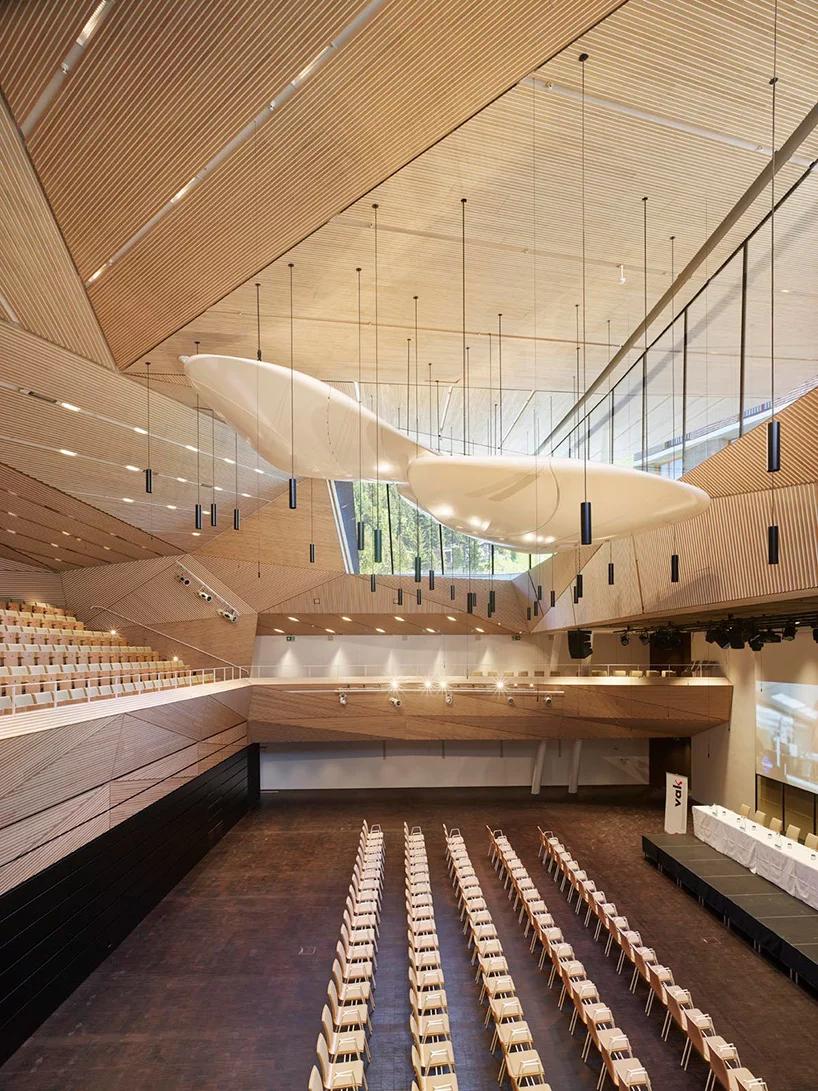 Studio Seilern Opens Andermatt Concert Hall In The Swiss Alps In 2020 Concert Hall Concert Hall Architecture Architecture