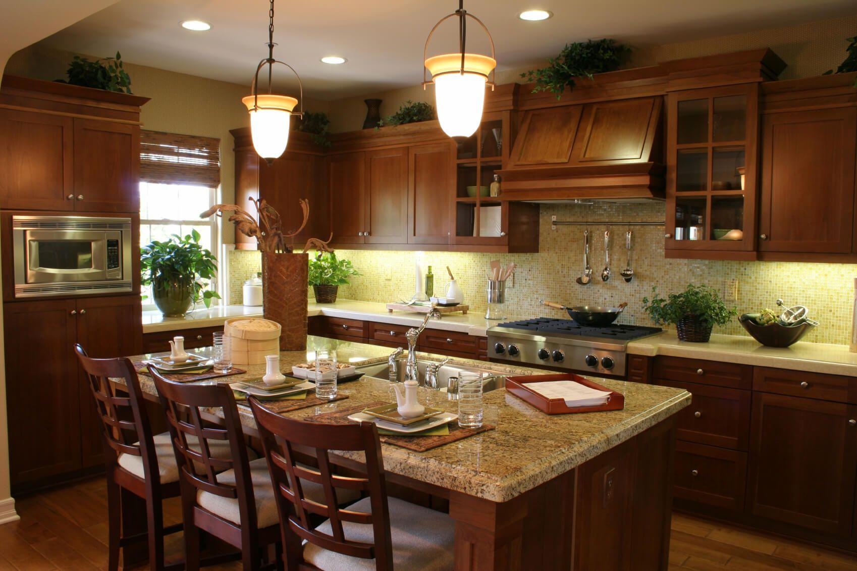 9 Dark Kitchens with Dark Wood OR Black Kitchen Cabinets ...
