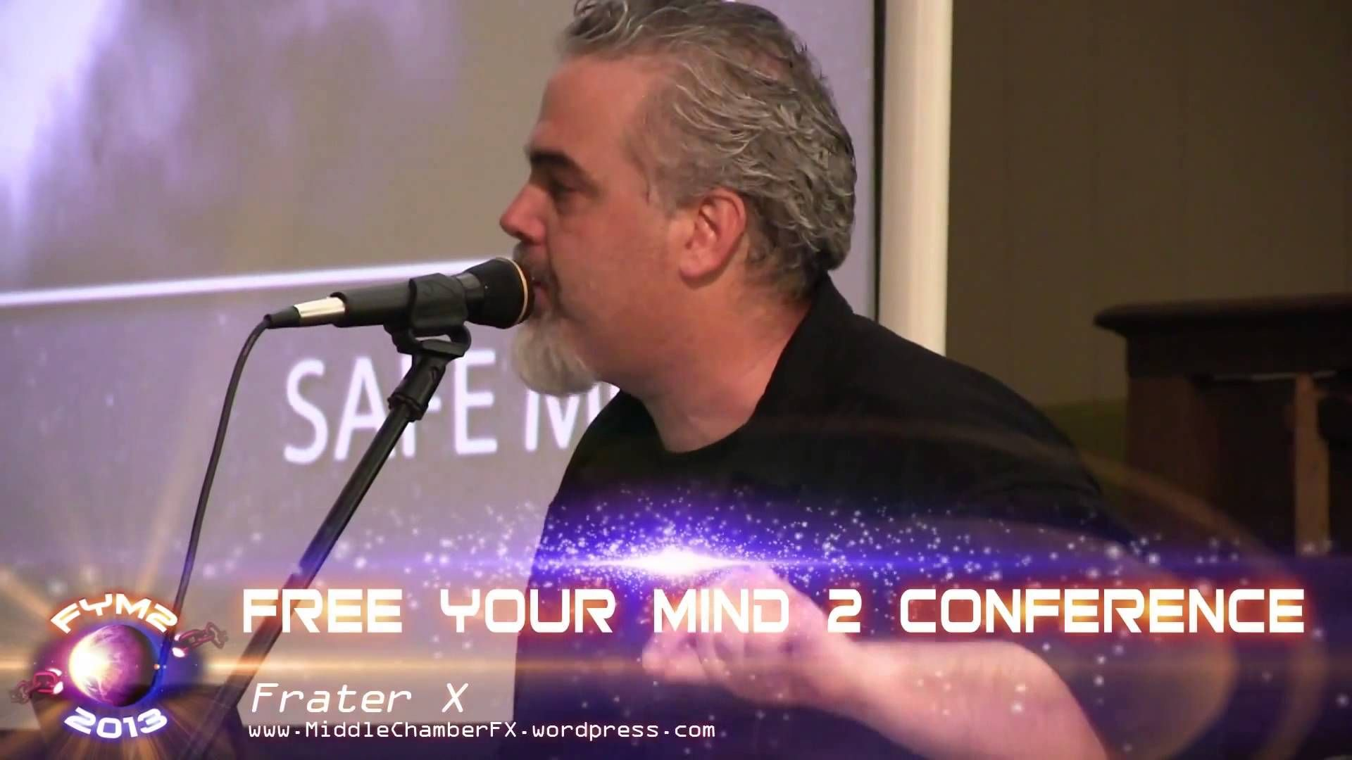 Frater X - Free Your Mind 2 Conference 2013