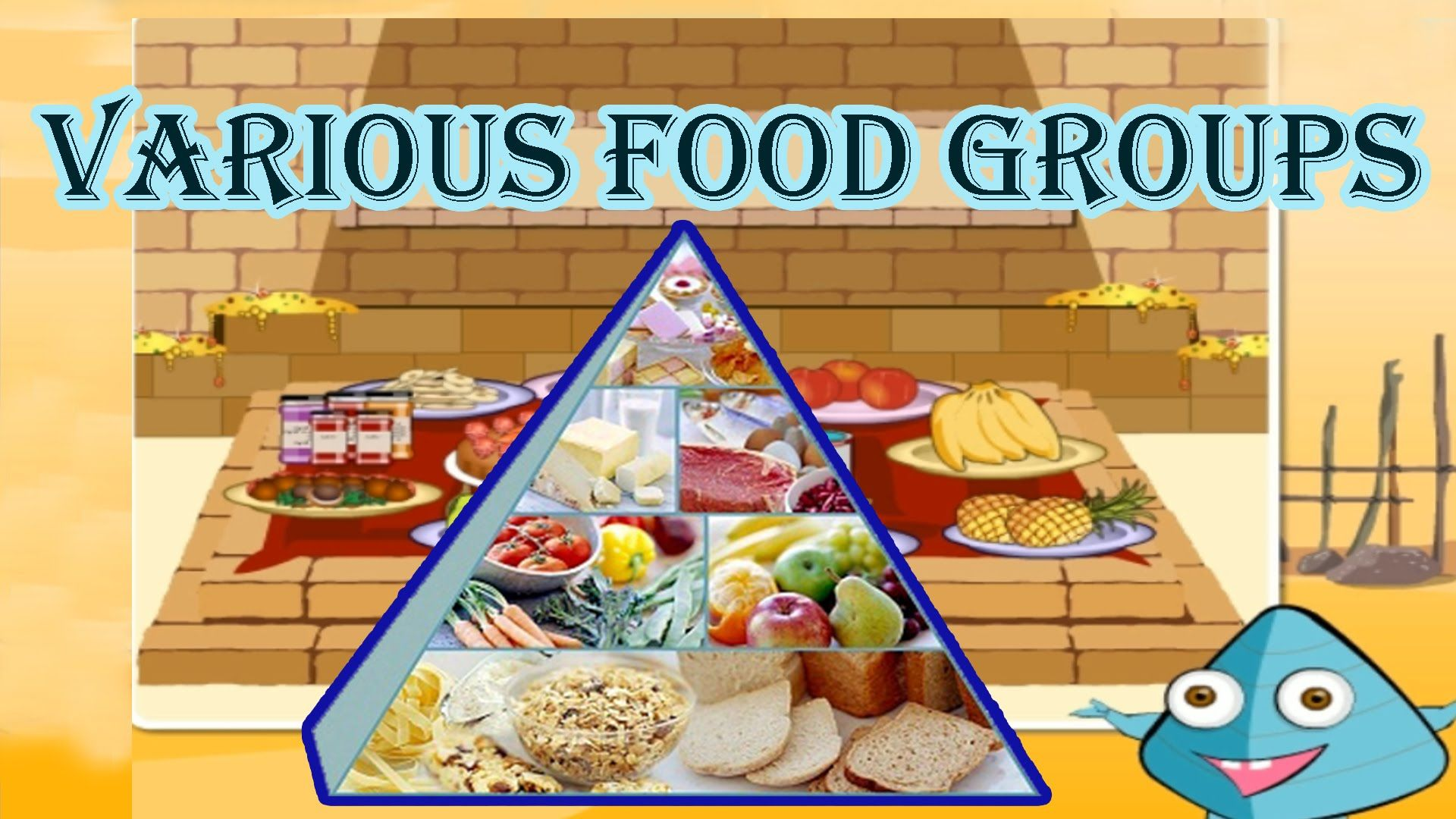 Food Pyramid The 5 Different Food Groups Learn The