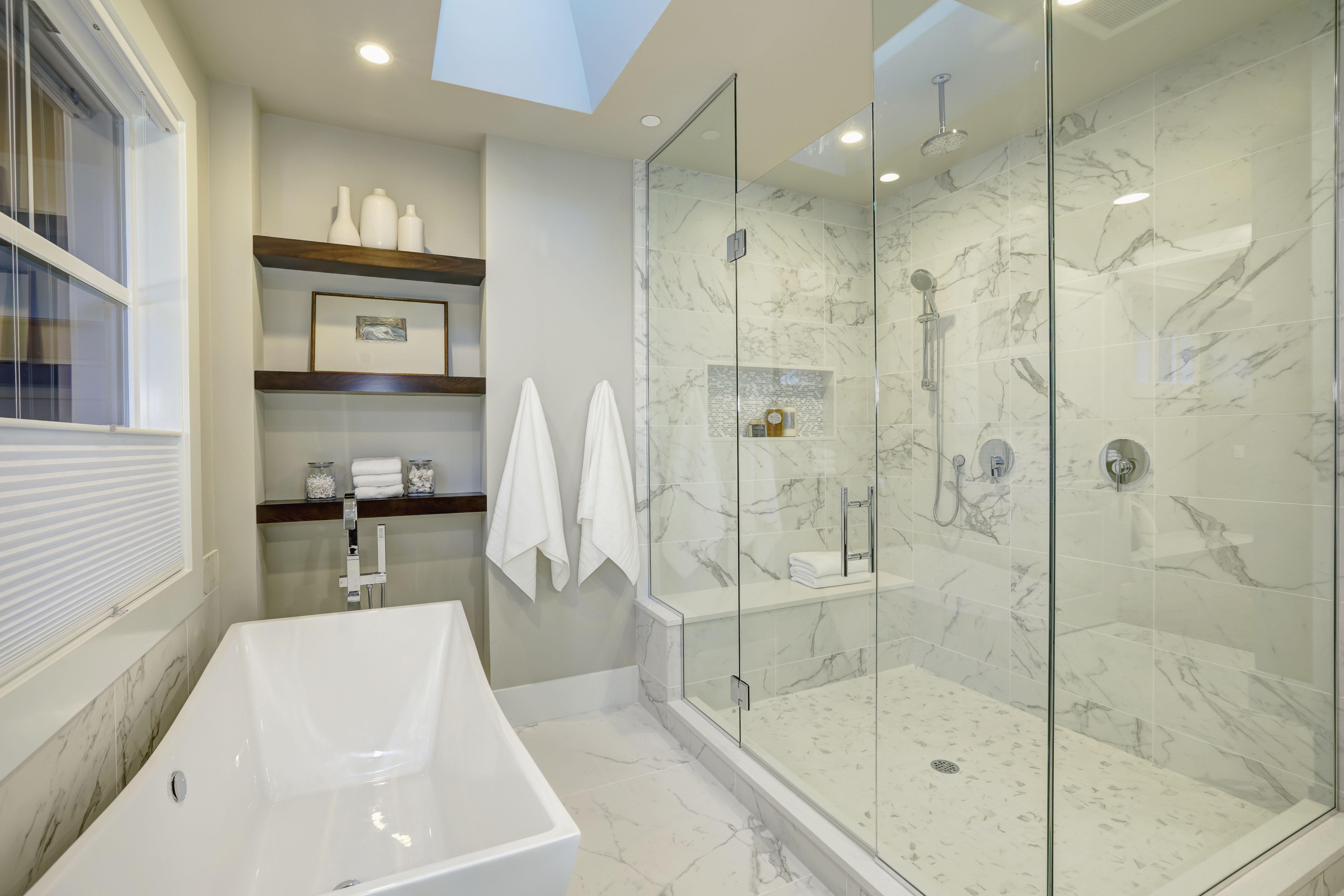 Installing Tile Over The Shower Pan Liner Master Bathroom Shower