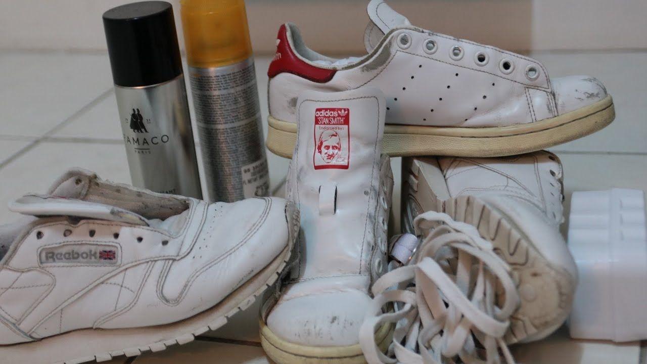 Nettoyage intérieurextérieur Stan smithREEBOK+soin du cuir