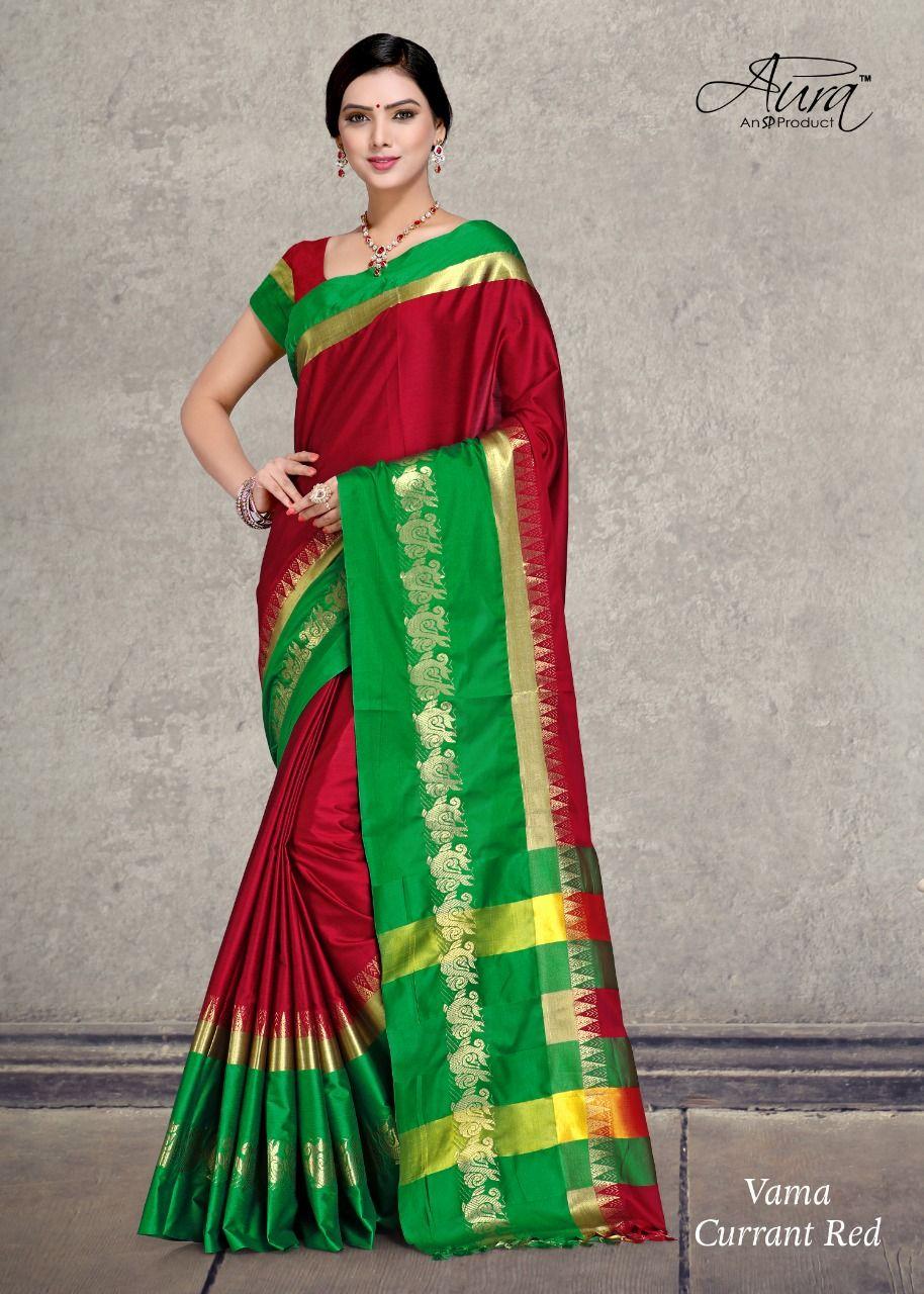 dc0ca0aec56 aura saree present vama cotton silk fancy saree catalog exporter wholesaler  supplier #anarkalisalwarsuits, #anrkalisuits, #valentinesdresses,  #salwarsuits, ...