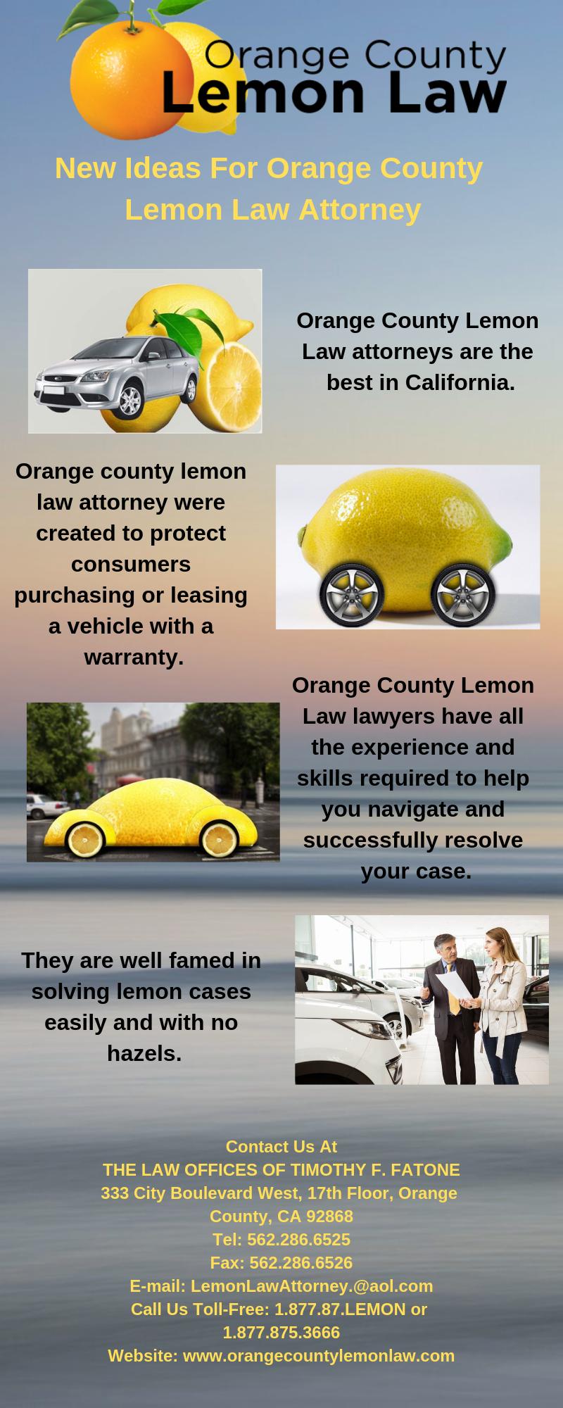 Lemon Law California >> Orange County Lemon Law The Leading Oclemonlaw Attorney In