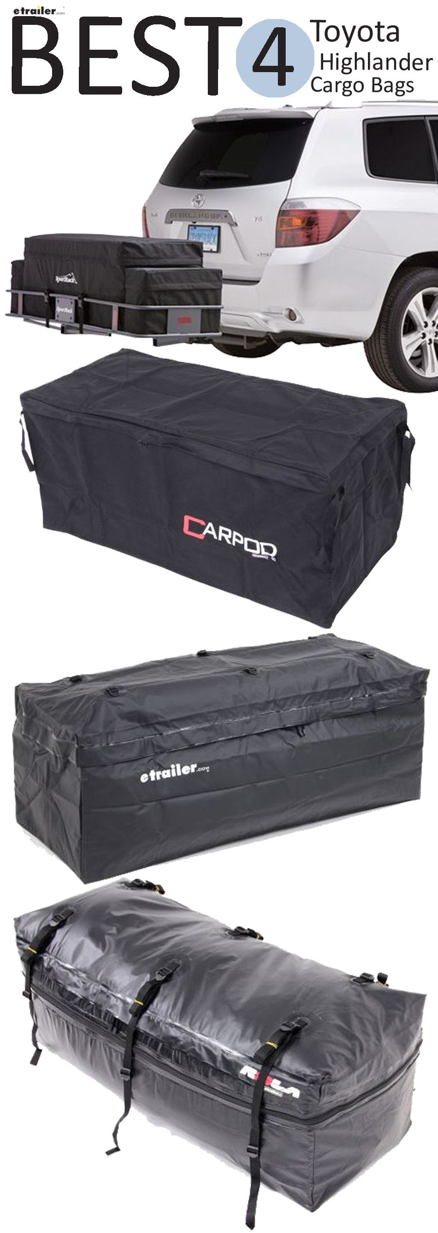 here are the best 3 cargo carriers for your toyota highlander