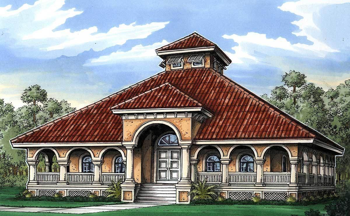 Florida Cracker House Plan