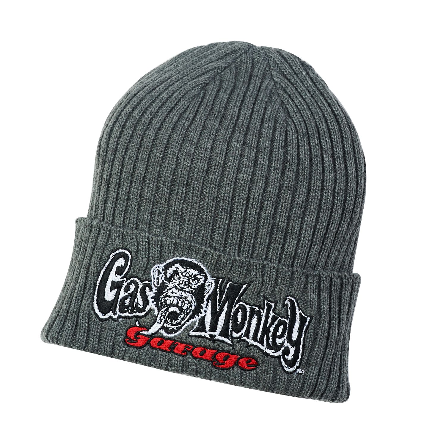 1bbd17569c8 Gas Monkey Garage Knit Beanie by Concept One Accessories  FastnLoud ...