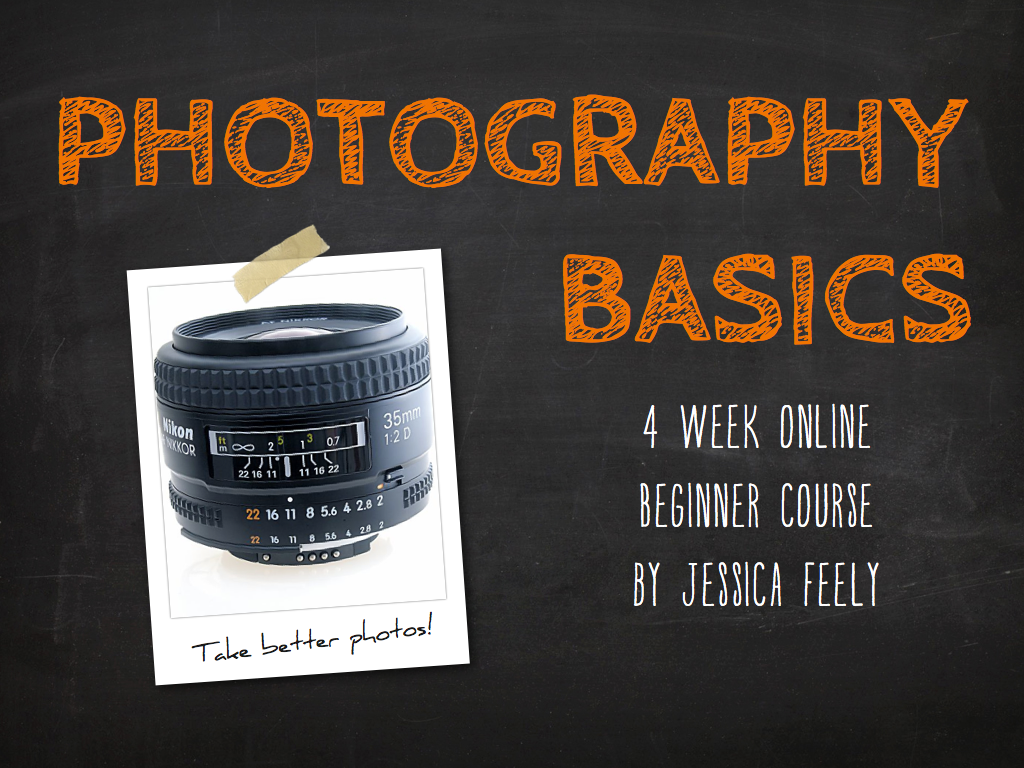 Online Class Information » Online Photography Class