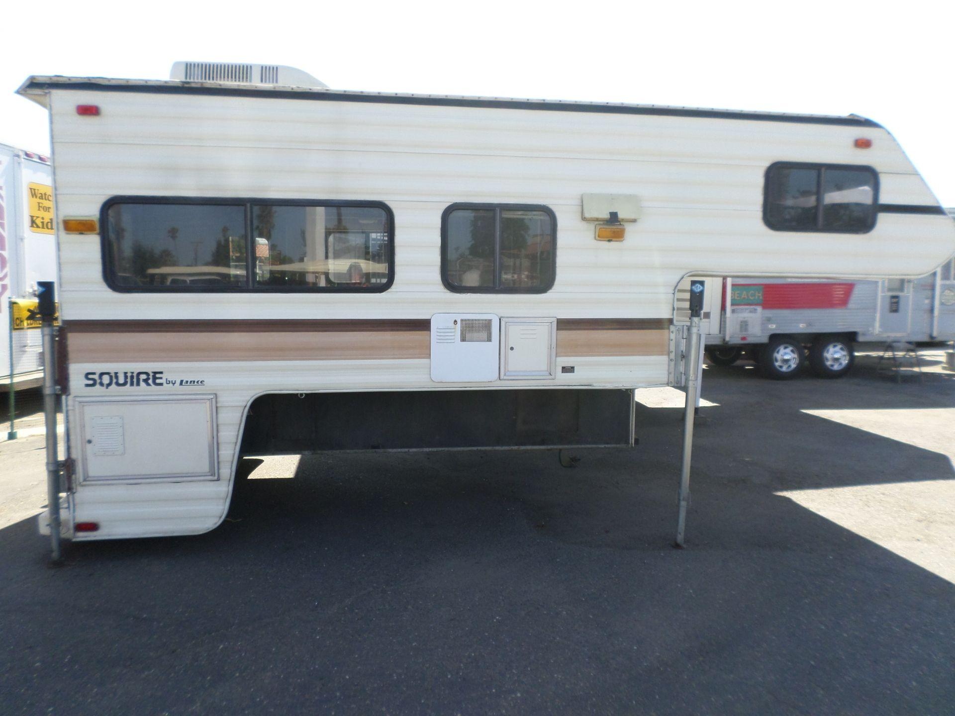 1991 Lance Squire Cabover Camper Cabover camper, Rv for