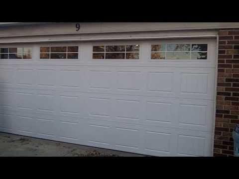 A Hormann 2100 New Overhead Garage Door Installed In Woodridge Il Vinal Back Insulated Overhead Garage Door Garage Doors Door Installation