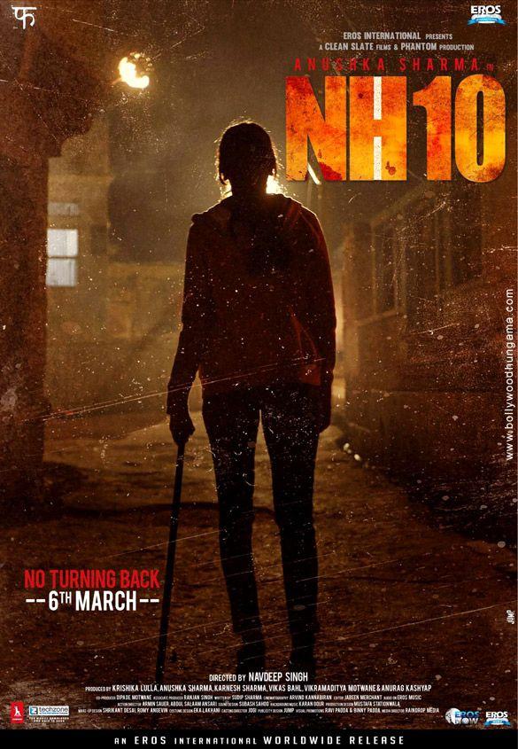 """Primer poster de """"NH10"""", la próxima película de Anushka Sharma"""