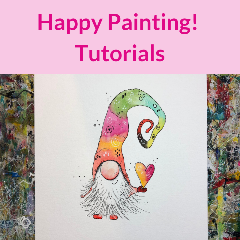 Happy Painting Club Dein Kreatives Zuhause Tolepainting Happy Painting Club Dein Kreatives Zuhau In 2020 Happy Paintings Easy Disney Drawings Easy Butterfly Drawing