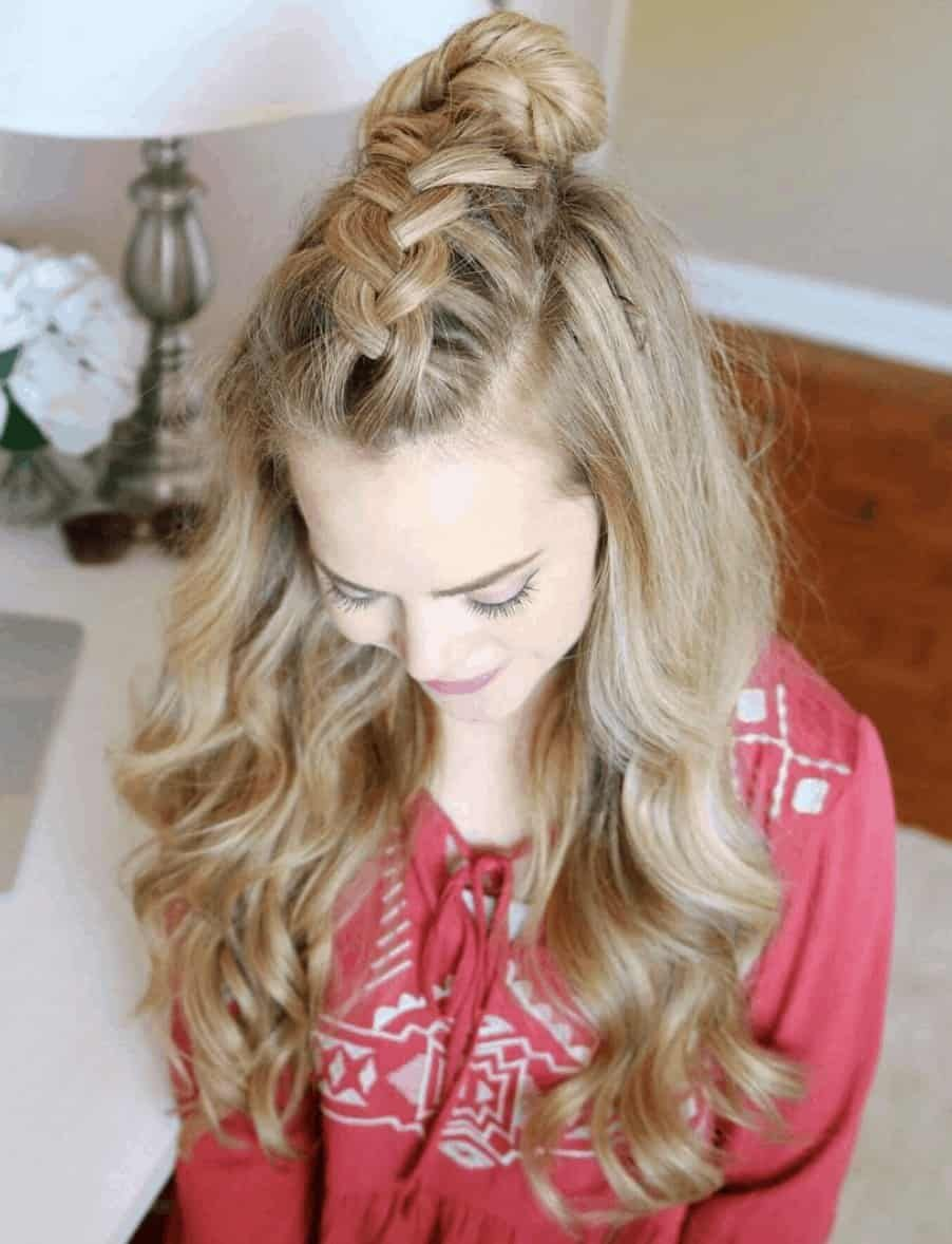 10 Stupid Easy Thanksgiving Hairstyles To Try In 2020 Thanksgiving Hairstyles Hair Styles Braided Hairstyles