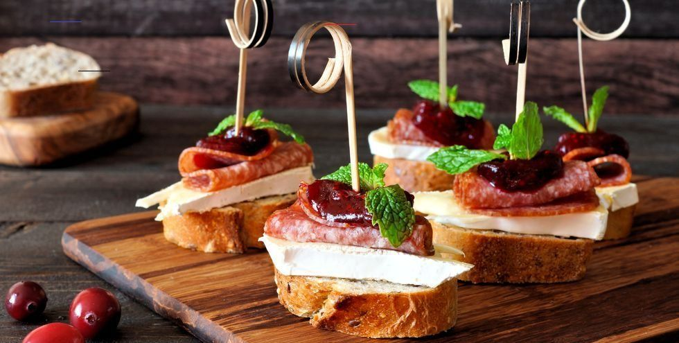 These Delicious New Year's Eve Appetizers Will Fly Right