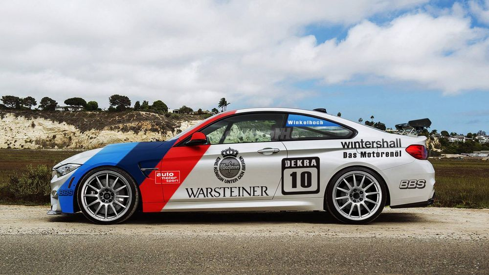 BMW M3 E30 Warsteiner DTM racing livery. We collect and ...