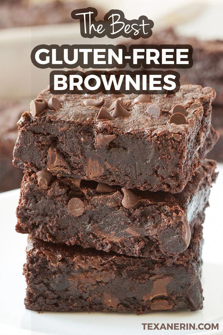 This is the only gluten-free brownie recipe that you will EVER need! These incredibly EASY brownies